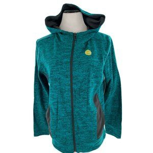 Made For Life Women Blue Charcoal Hooded Jacket